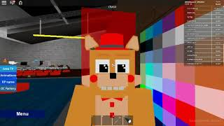 ROBLOX: I turned an Animatronic (I turned a cat, my name is crash-Animatronic world)