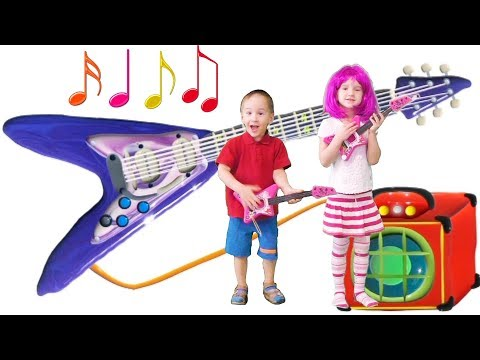 Musical Instruments Sounds for Kids – Acoustic vs Electric Guitar | MusicMakers - From Baby Teacher