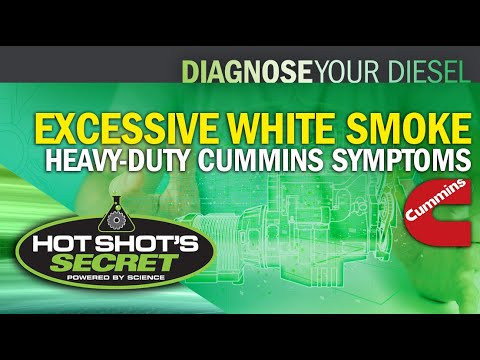 Excessive White Smoke - Heavy-Duty Cummins Symptoms - YouTube