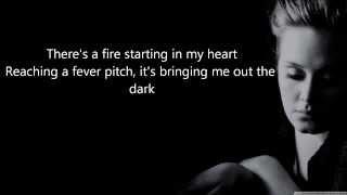 Adele-Rolling in the deep (Higher Key) karaoke Male version