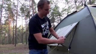 Обзор кемпинговых палаток Trek Planet модель Vegas / Atlanta Air (видео)