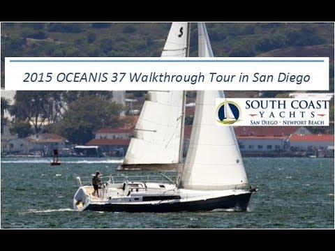 2015 Beneteau Oceanis 37 For Sale Video Walkthrough Tour In San Diego