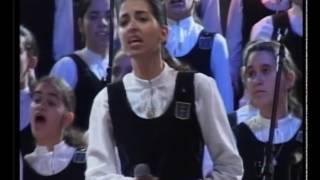 """Se bastasse una  canzone"" (Eros Ramazzotti) -MENINAS CANTORAS DE PETRÓPOLIS"