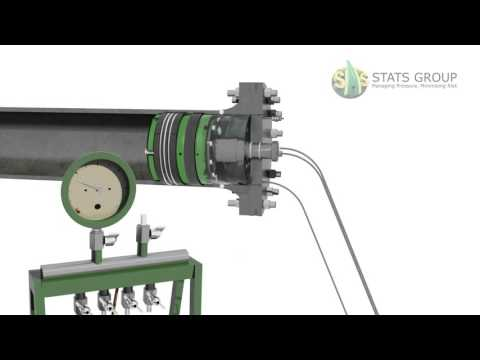 Hydrostatic Test | Axial Weld Tension Tool | Hydraulically Activated