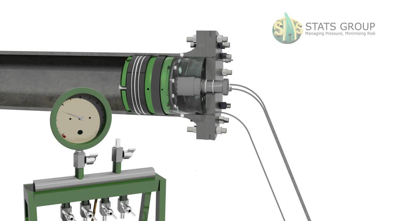 Hydrostatic Test Axial Weld Tension Tool Hydraulically
