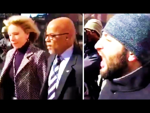 Betsy DeVos Scurries Away as Protesters Block Her From Entering D.C. School