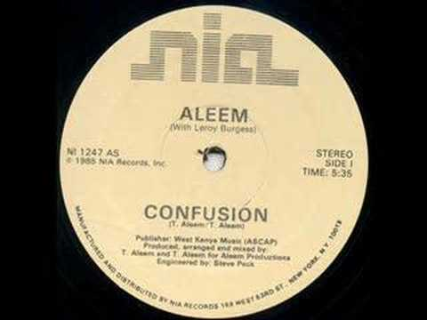 Confusion--Aleem Ft Leroy Burgess