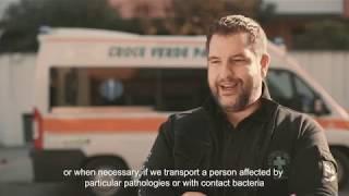 Sanificazione con ozono delle ambulanze
