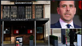 Joe Biden's Son Hunter Biden Accused of Smoking That Crack in DC Strip Club