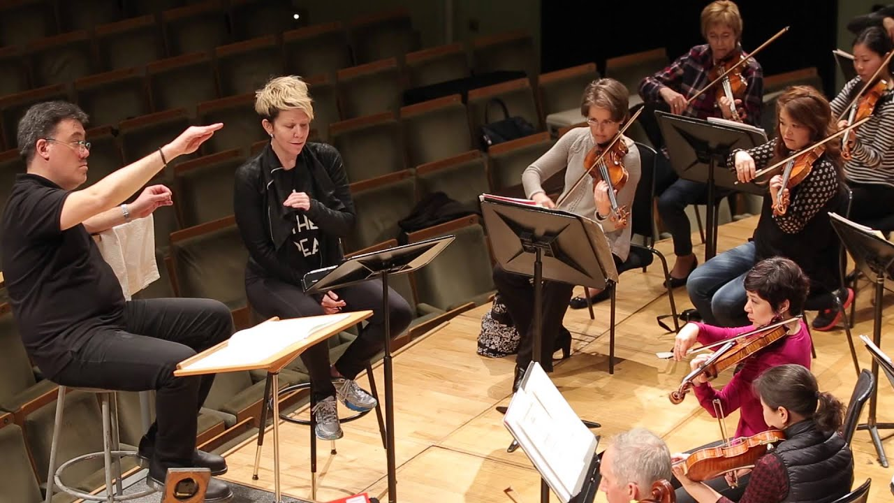 "Rehearsing Strauss's ""Morgen"" in Dublin: 4/16/15"