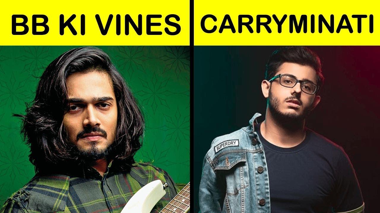 BB ki vines vs Carryminati Comparison UNBIASED in Hindi #Short #Shorts