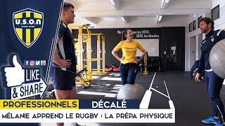 USON NEVERS RUGBY - Mélanie apprend le rugby : la prépa physique (ep1)
