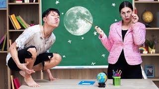 9 أدوات مدرسية مسلية ومفيدة / مستذئب في المدرسة