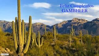 Gambheer   Nature & Naturaleza - Happy Birthday