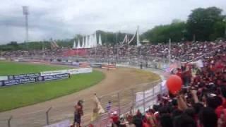 Mexican Wave At Stadion H Agus Salim Padang ( 26/10/10 )