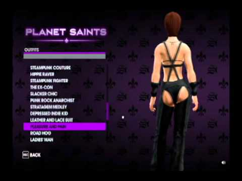 saints row how to get clothes from inauguration station