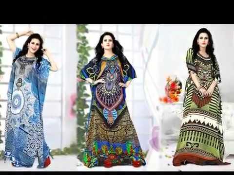 image of kaftan dresses youtube video 1