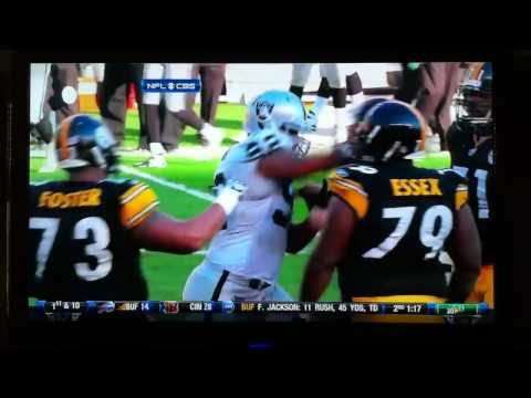 Richard Seymour hits Ben Roethlisberger HD