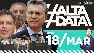 Macri confesó que su familia pagaba coimas   #AltaData, todo lo que pasa en un toque