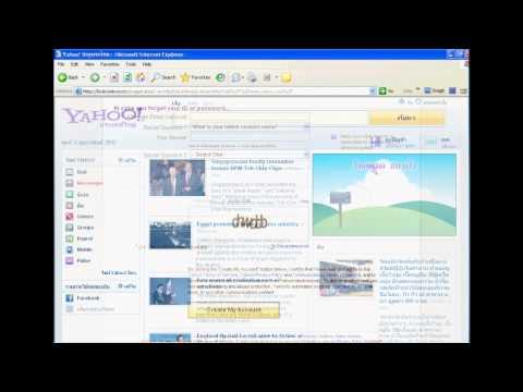 การสมัครเมล์ของyahoo.com-yahoo.co.th.wmv