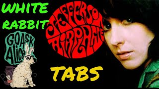 Download Jefferson Airplane White Rabbit Fingerstyle Guitar TABS!!!