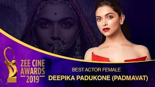 Best Actor Female Award | Queen Padmaavat | Zee Cine Awards 2019