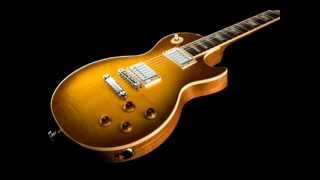Hard rock backing track in Dm