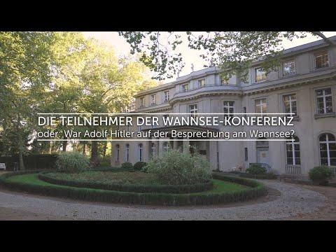 Die Teilnehmer der Wannsee-Konferenz, oder: War Adolf Hitler auf der Besprechung am Wannsee?