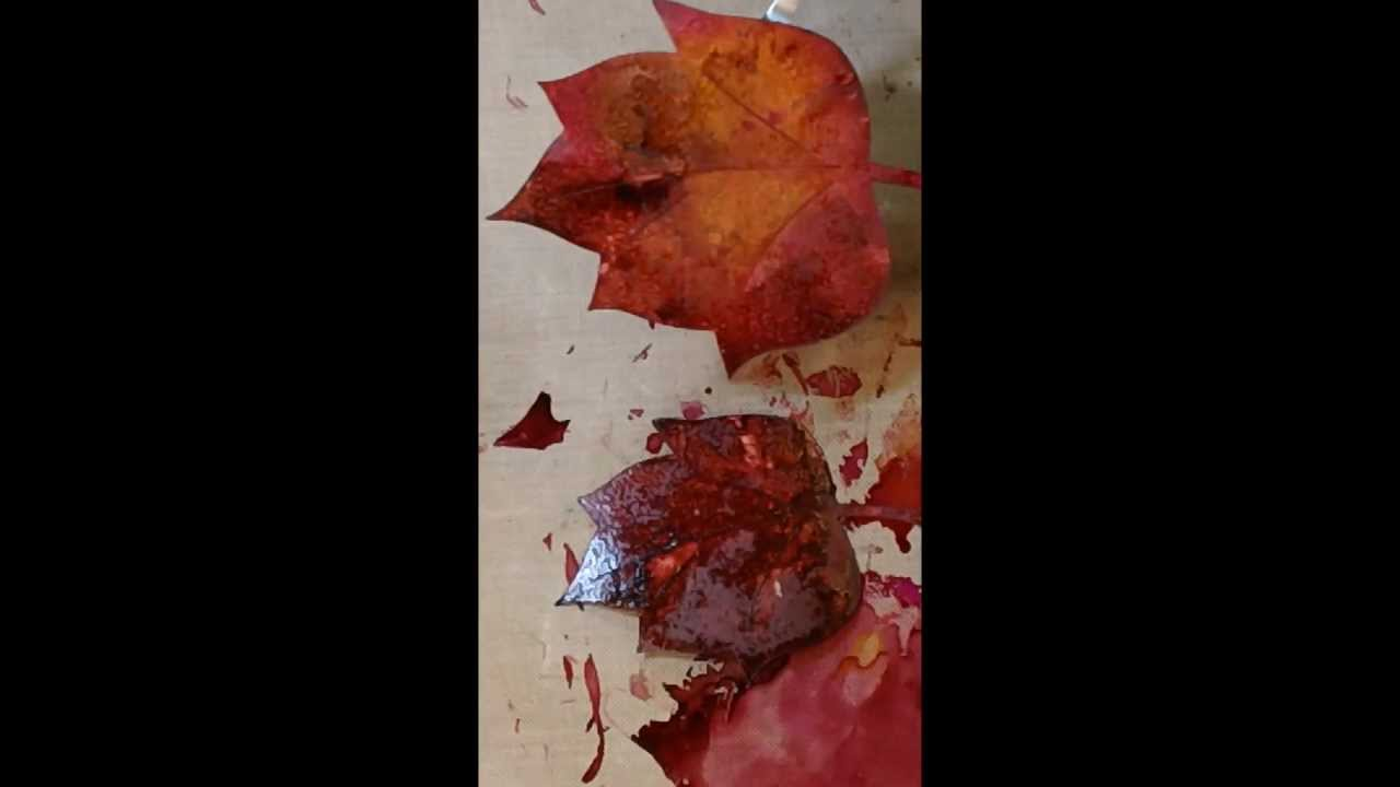 how to make fall leaves