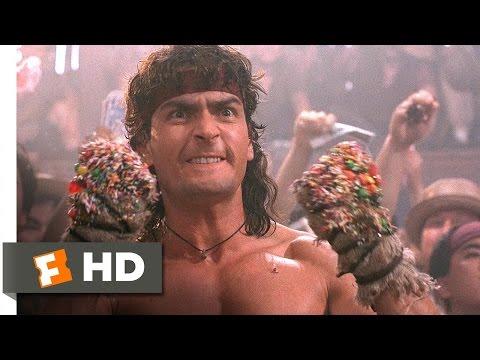 Hot Shots! Part Deux (1/5) Movie CLIP - Topper's Kickboxing Match (1993) HD