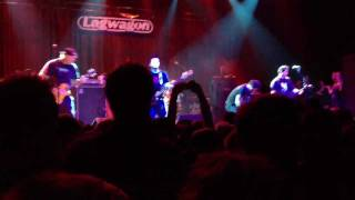 Lagwagon - Island of Shame / Lazy @ Fillmore SF - 01/21/12