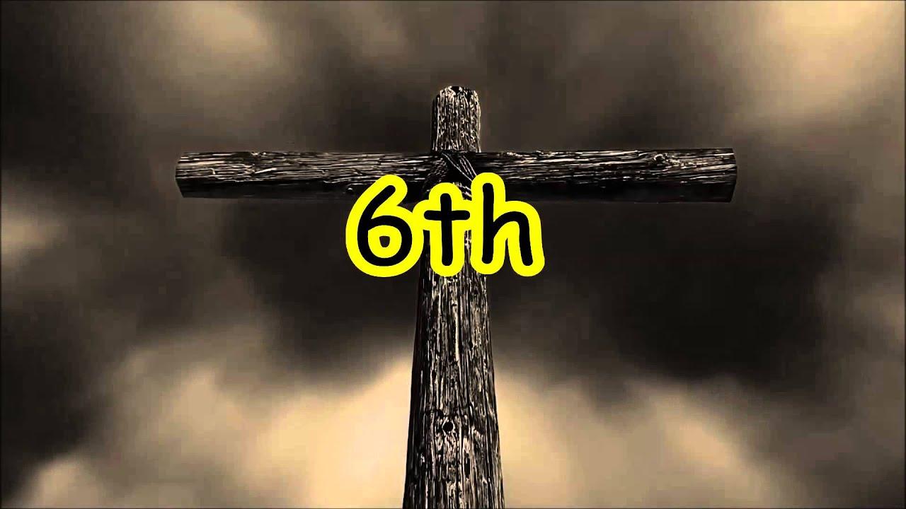 7 Perkataan Yesus Di Salib 7 Last Words From The Cross Youtube