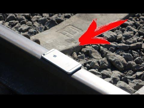 ЧТО ЕСЛИ ПОЕЗД ПЕРЕЕДЕТ iPhone 6s ?!
