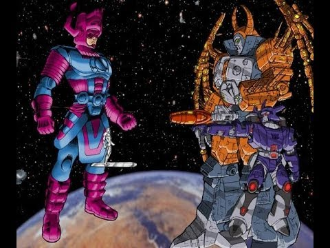 unicron vs galactus fantasy battle simulation youtube