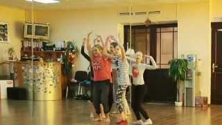 ALEXIS contemporary studio  kids/ Контрольный урок и пробы на номер.