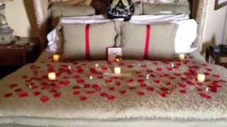Watch now romantic ways to decorate a hotel room on for Valentines day ideas for hotels
