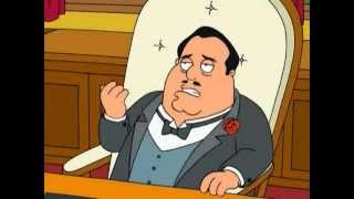 Family Guy - On this the day of my daughter's wedding (Godfather funny scene)