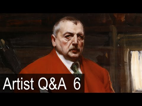 The Zorn Limited Palette & more – Ep.6 Oil Painting Q&A with Mark Carder