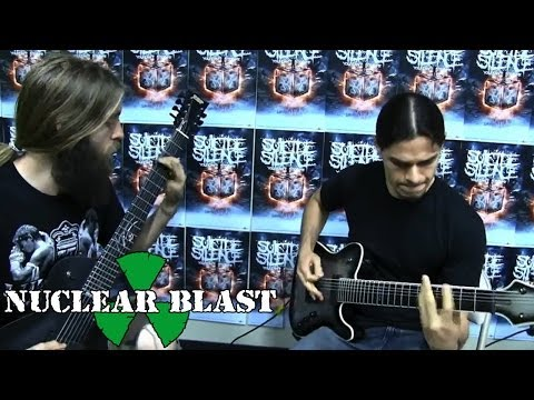 SUICIDE SILENCE - Cease To Exist: Guitar Lesson w/ Chris Garza + Mark Heylmun (PART 1)