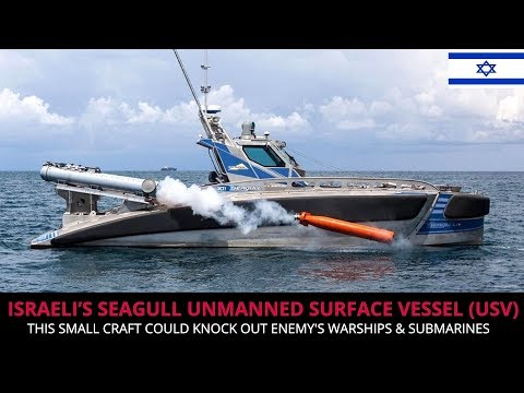 ISRAELI'S SEAGULL UNMANNED SURFACE VESSEL -  FULL ANALYSIS