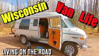 Wisconsin Van Life - Liטing on the Road 10/2020