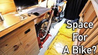 Unique DIY Sprinter Conversion Camper Van With Motorcycle Storage
