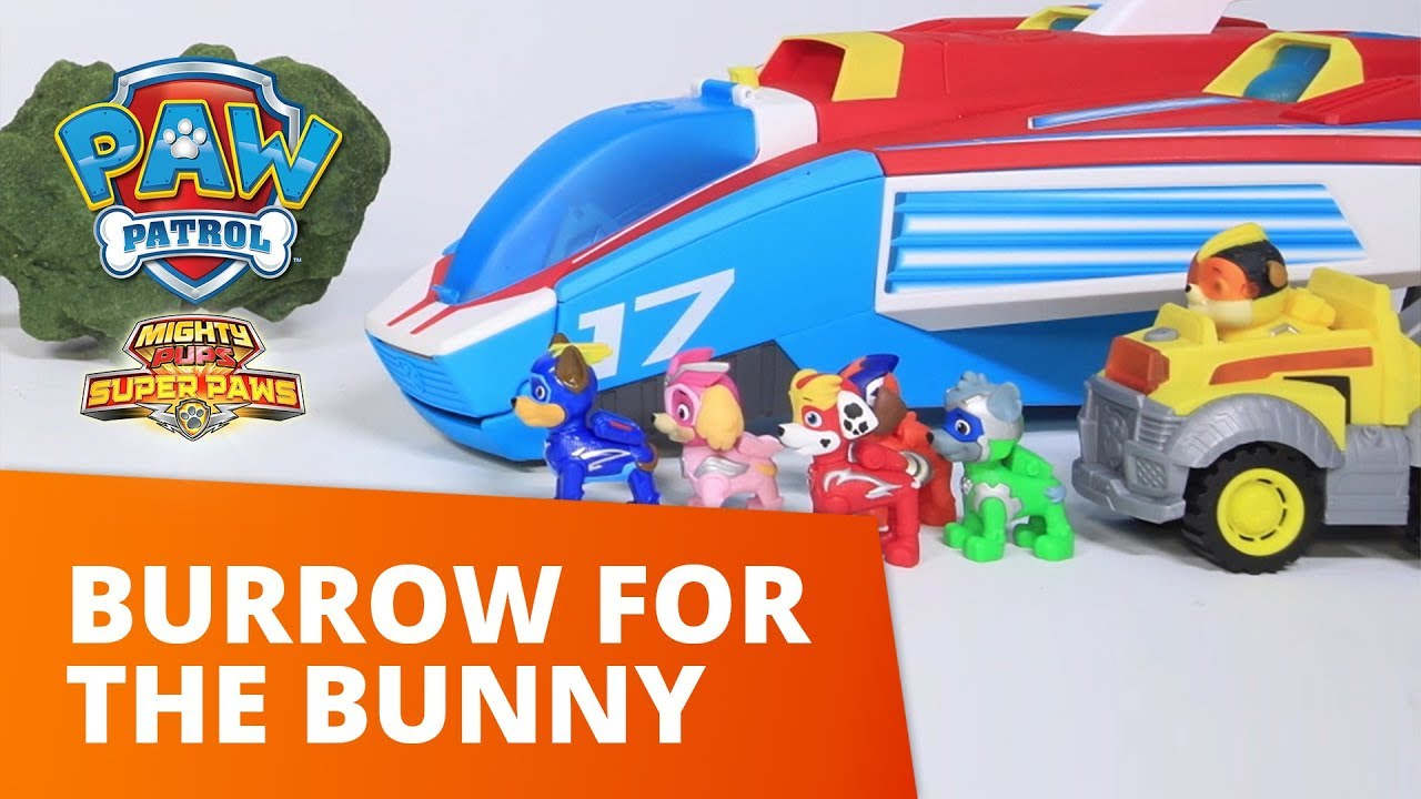 PAW Patrol | Burrow for the Bunny | Toy Episode | PAW Patrol Official & Friends