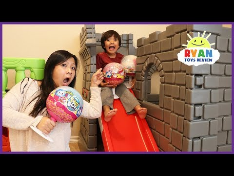Thumbnail: Kids Pretend Play with Giant Pikmi Pops Surprise Lollipop toys for kids