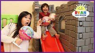 Kids Pretend Play with  Giant Pikmi Pops Surprise Lollipop toys for kids