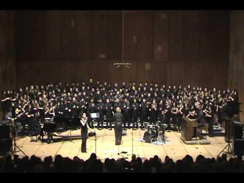 UCB Gospel Chorus Noon Concert 2/29/12 (6/7) Higher Ground