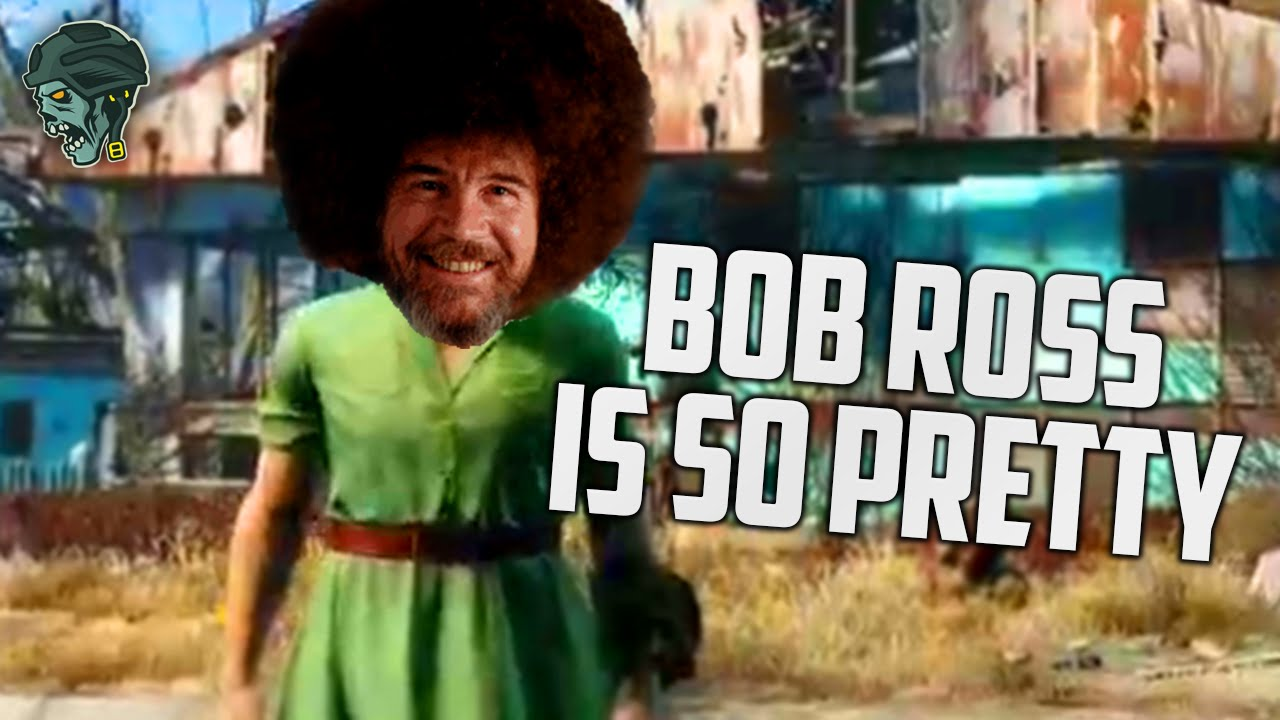 Bob ross is so pretty fallout 4 funny moments youtube voltagebd Gallery
