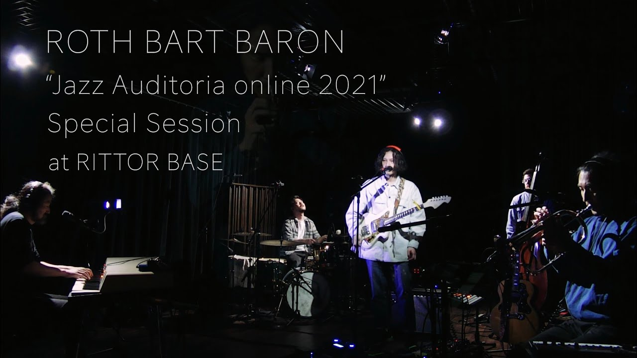 """""""JAZZ AUDITORIA ONLINE 2021"""" Special Session at RITTOR BASE"""