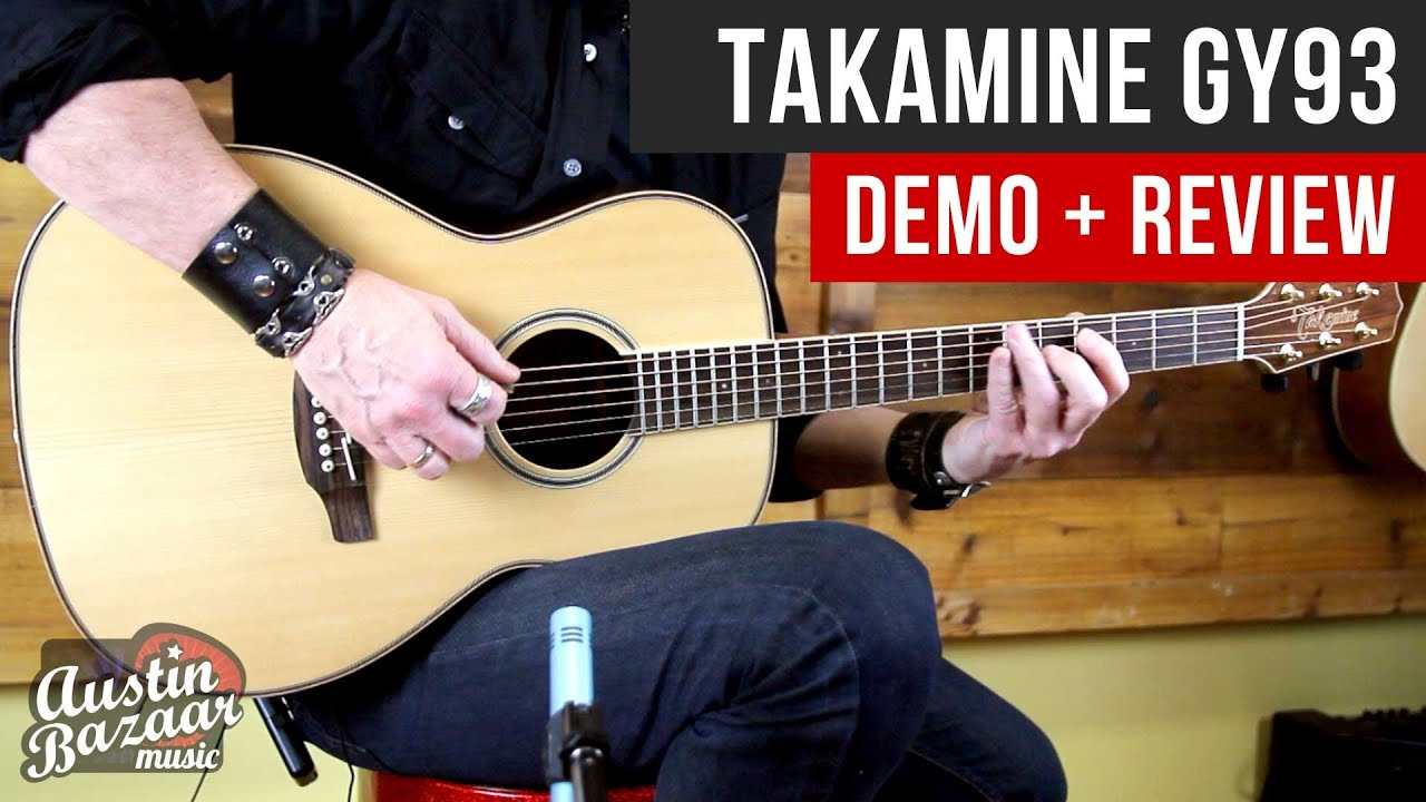 Takamine GY93 New Yorker Acoustic Guitar Demo