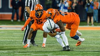 Illinois Football Highlights vs. Penn State 9/21/18